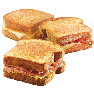 grilled cheese 3 sandwiches